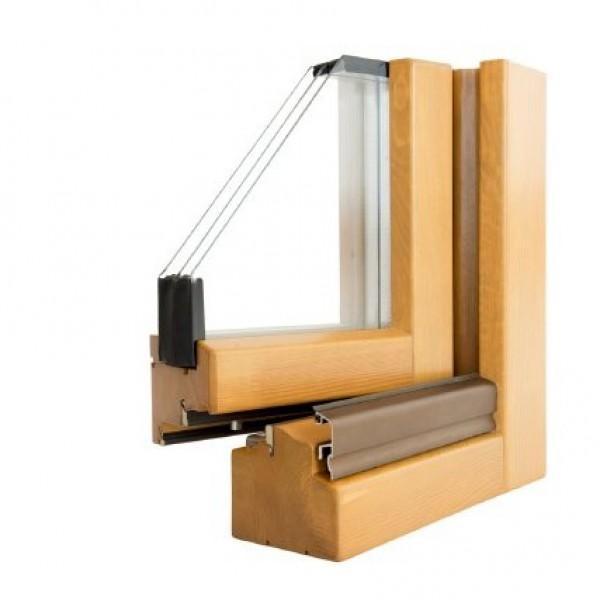 Carinbisa carinbisa fabricante nacional ventana madera for Ventanas de aluminio con marco de madera